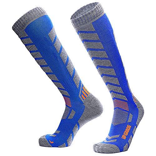 Wool Ski Socks Warmest-Best Lightweight Snowboard Socks for Winter Outdoor Men Women...