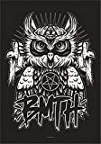 Heart Rock Licensed Flagge Bring Me The Horizon–Owl,