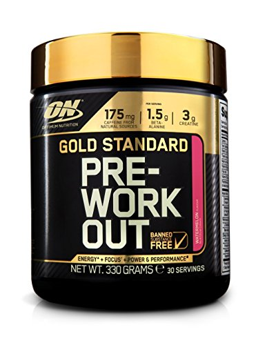 Optimum Nutrition Gold Standard Pre-Workout, 330g / 30 Portionen , Wassermelone