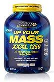 MHP UYM XXXL 1350 Mass Building Weight Gainer, Muscle Mass Gains, w/50g Protein, High Calories, 11g BCAAs, Leucine, French Vanilla Creme, 8 Servings
