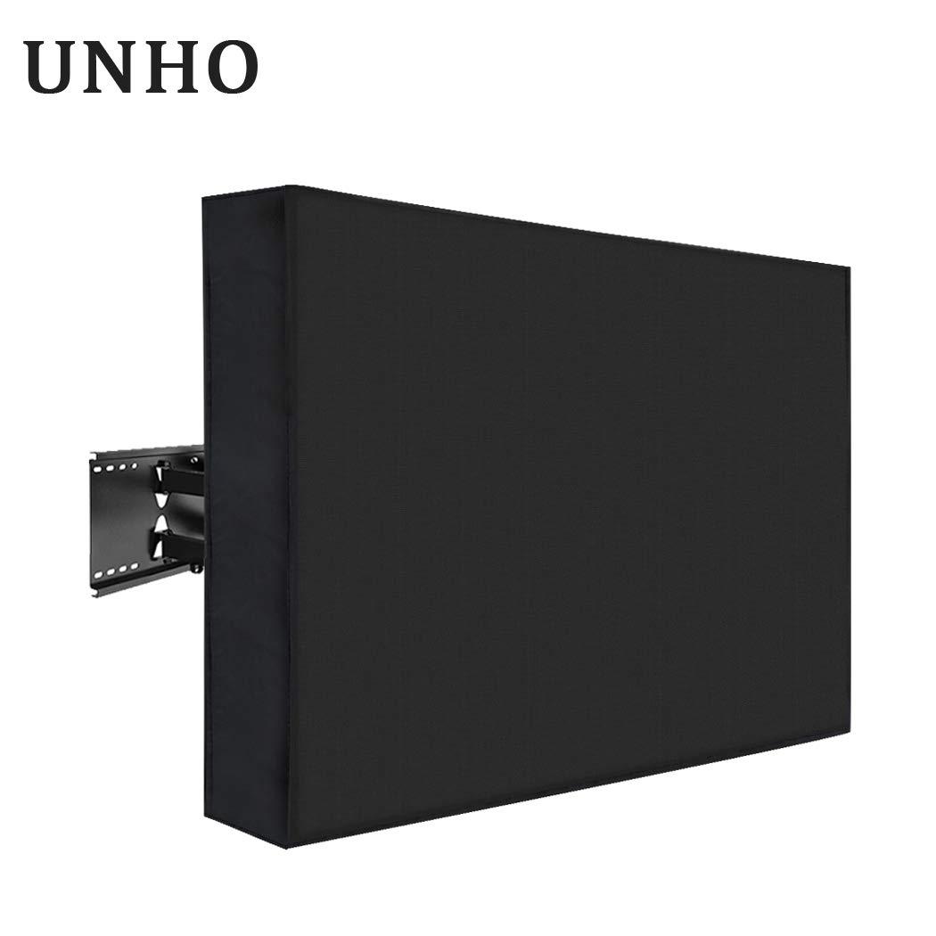 UNHO Funda para TV Pantalla LED LCD de 30-32 Pulgadas Exterior Protector para Televisor Cubierta de TV Universal y Resistente al Agua con Bolsillo de Almacenamiento: Amazon.es: Electrónica