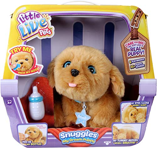 Snuggles My Dream Puppy – Little Live Pets Playset