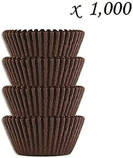 #4 棕色玻璃纸糖果杯 - 巧克力花生酱烘焙衬垫 棕色 14162318