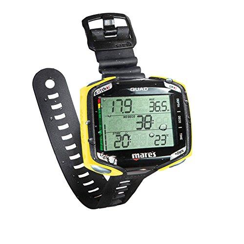 Mares 414134 - Reloj de Buceo Unisex para Adulto, Unisex Adulto, 414134, Nero/Giallo Chiaro, Talla única