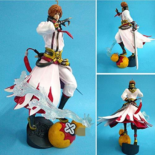 FJKYF Modelo De Animerey De La Gloria Rey Gloria Qinglian Sword Juego Li BAI Toy Anime Modelo Niño Niños Colección Regalo 25Cm