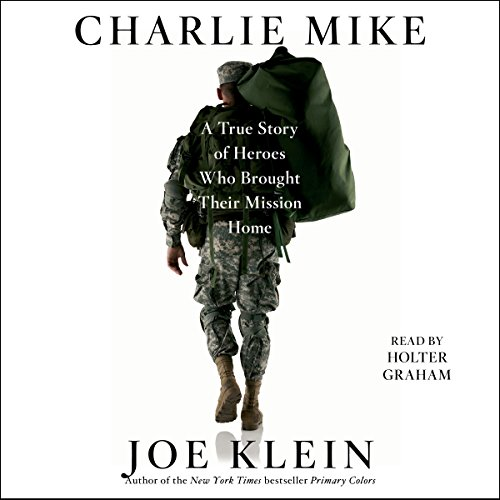 Charlie Mike audiobook cover art