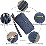 Zoom IMG-1 portafoglio donna con doppia cerniera