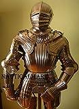 NauticalMart Maximilian Medieval Suit of Armor Closed Helmet Knight Full Armour Costume