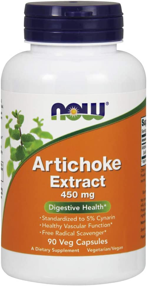 Cheap Now Foods Artichoke Extract Veg-capsules 450mg Luxury 90-Count