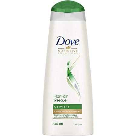 Dove Hair Fall Rescue Shampoo For Weak Hair Prone To Hairfall, Deeply Nourishes From Roots Up And Reduces Hair Fall , 340 ml