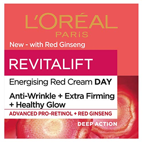 L'Oreal Paris Revitalift Energising Red Healthy Glow Day Cream 50 ml
