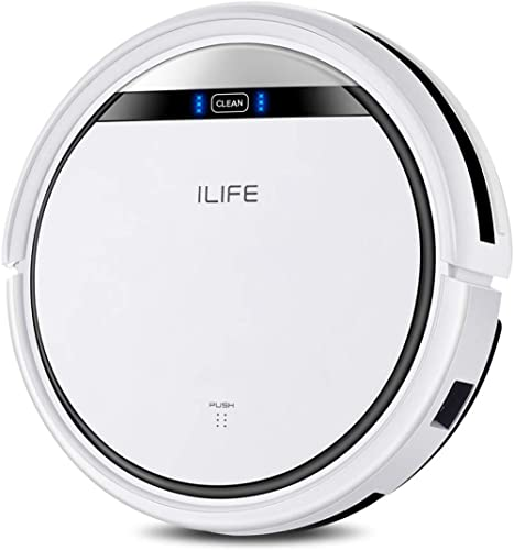 ILIFE V3s Pro Robot Vacuum Cleaner, Tangle-free Suction , Slim, Automatic Self-Charging Robotic Vacuum Cleaner, Daily...