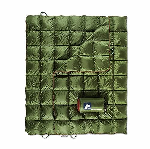 Horizon Hound DOWN TREK Campingdecke - Outdoor Leichte Packbare Daunendecke, Kompakt & Wasserabweisend für Camping Wandern Reisen - 650 Bauschkraft