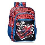 Marvel Spiderman Great Power Mochila Adaptable Rojo 30x40x13 cms Poliéster 15,6L