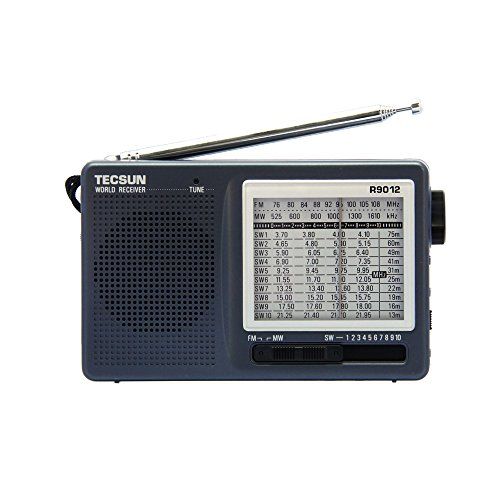 TECSUN R-9012 Portable Digital Shortwave Radio AM/FM/SW(1-10) 12 Bands...