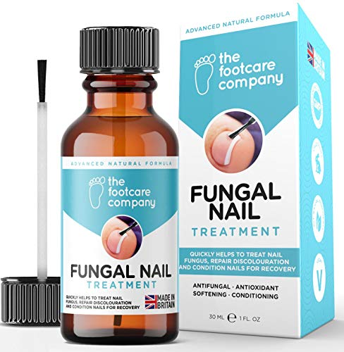 Fungal Nail Treatment for Toenails Extra Strong | Hands and Toenail Fungus Treatment | Advanced Natural Nail Fungal Treatment Formula for Fungus, discolouration and damaged nails | Made in the UK