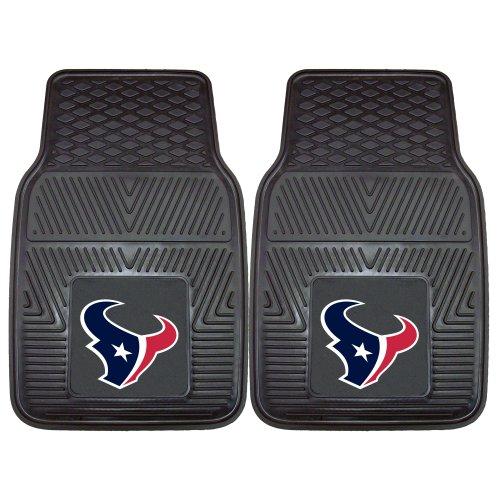 Fanmats 8993 NFL-Houston Texans Vinyl Universal Heavy Duty Fan Floor Mat Black, 18'x27'