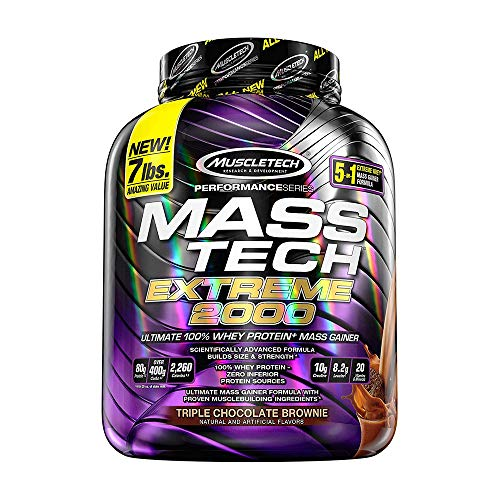 Muscletech Performance Series Mass Tech Extreme 2000 Triple Chocolate...