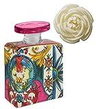 Maroc & Roll - Bottiglia Small DIFFUSORE Ambiente in Porcellana con Fiore di Corteccia di GELSO - 225ml SBTMIDI.B&R04