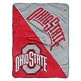 The Northwest Company Ohio State Buckeyes 'Halftone' Micro Raschel Throw Blanket, 46' x 60' , Red