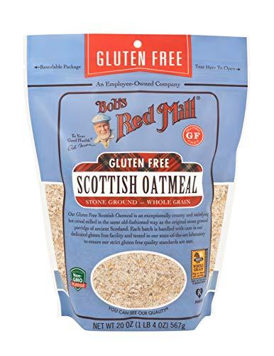 Bob's Red Mill Gluten Free Scottish Oatmeal, 20 Oz