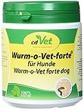 cdVet Naturprodukte Wurm-o-Vet forte Hund 300 g - Hund - Ergänzungfuttermittel - überhöhter...