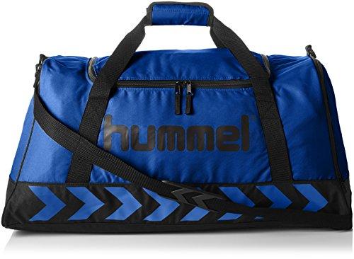 Hummel Authentic Sports Bag Sporttasche, Größe:L, 66x37x32cm, 59 Liter, blau (True Blue/Black)