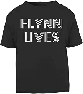 Cloud City 7 Flynn Lives Tron Legacy Baby and Toddler Short Sleeve T-Shirt