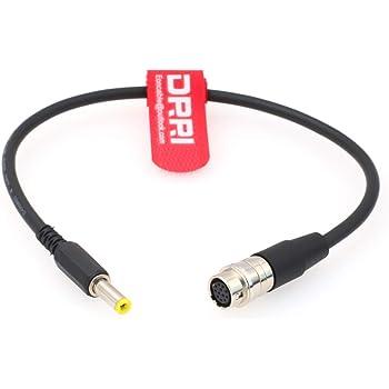 """12v-cable hembra de Hirose 12pin a b4 2//3/"""" para olympus pen OM-D em-5"""