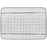 """Tribal Cooking Cooling Rack - 8.5"""" x 12"""" - Cooling and Baking Rack - Oven Safe Wire Rack for Cookie Cooling, Baking with Sheet Pan - Large, Nonstick, and Stainless Steel"""