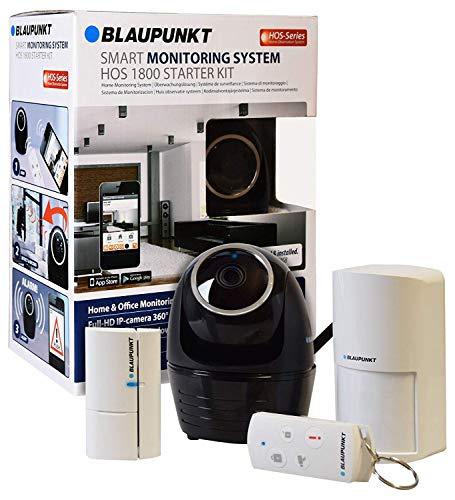 Blaupunkt HOS-1800 Sistema Alarma sin cuotas con cámara vigilancia interior IP. Detecta y enfoca al intruso de forma automática.