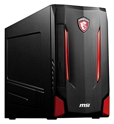 MSI Nightblade MI2-B7670097048G1T0DS10MH Desktop-PC (Intel Core i7 6700 (Skylake) , 8GB DDR4 RAM, 1TB HDD + 128GB , NVIDIA GeForce GTX 970, Win 10 Home) schwarz