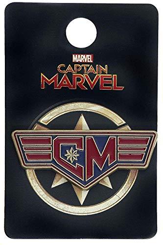 Marvel Captain Marvel Enamel Collector Pin