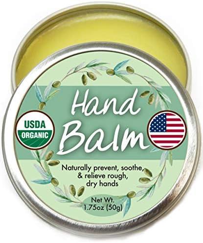 Organic Hand Cream Balm for Dry Cracked Hands Moisturizing Hand Repair Cream for Women and Men product image