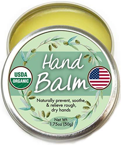 Organic Hand Cream Balm for Dry Cra…