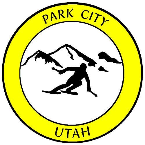 Park City, Utah Ski Destination Decorative Car Truck Window Sticker Decal...
