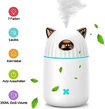Multi 13x8x12cm GreenFresh Mini USB Luftbefeuchter Cool Mist Ultraschall
