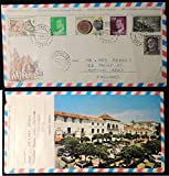 Spain 1982 - Special letter sent form Spain to UK Torremolinos postmark slightly torn where opened first day cover tourism JandRStamps 135083