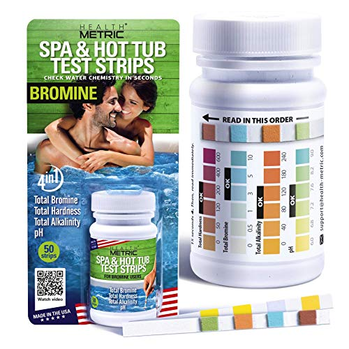 Spa and Hot Tub Test Strips Bromine   Made in The USA   4...