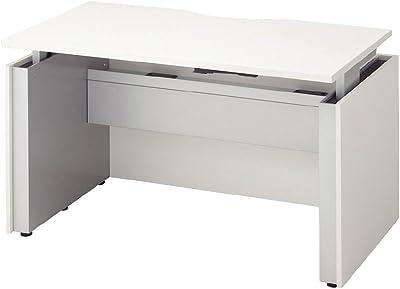 プラス デスク Work Lift 天板昇降デスク TT-107 ホワイト/シルバー 623080