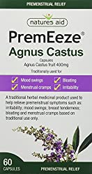 Traditionally used to help relieve premenstrual symptoms such as irritability, mood swings, breast tenderness, bloating and menstrual cramps Each capsule contains 400 mg Agnus Castus fruit (Vitex agnus-castus L) For women experiencing premenstrual sy...