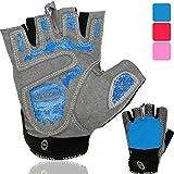 NetroxSports Trainingshandschuhe für Herren und Damen – atmungsaktive und leichte Fitness Handschuhe mit extra Grip Silikon Pads für Bodybuilding...