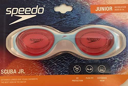 Speedo Scuba Jr. Junior Goggle: Pinkberry Blue/Pink