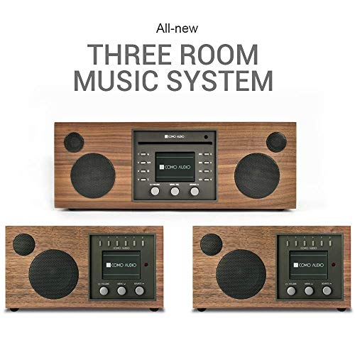 Best Review Of Como Audio: Whole Home Music Solution - 3 System Bundle (Walnut/Black)