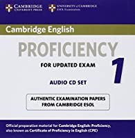 Cambridge English Proficiency 1 for Updated Exam Audio CDs (2): Authentic Examination Papers from Cambridge ESOL (CPE Practice Tests)