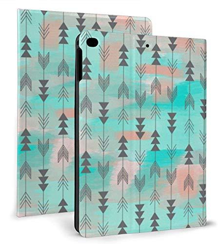 Arrow Bohemia Style PU Funda Inteligente de Cuero Función Auto Sleep / Wake para iPad Mini 4/5 7,9 'y iPad Air 1/2 9,7' Funda