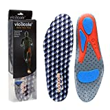 VOCOFA Flat Feet Insole Athlete Shoe Insole Arch Support Running Insert Grey Men 8.5-11