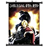 Fullmetal Alchemist Anime Fabric Wall Scroll Poster (32' X 43') Inches