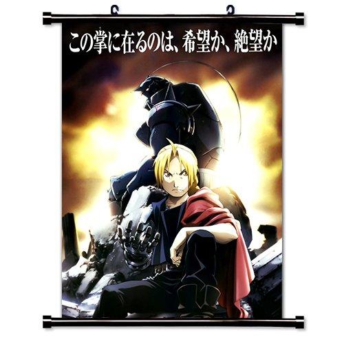 Fullmetal Alchemist Anime Fabric Wall Scroll Poster (32' X 43') Inches