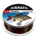 Jenzi Z3 Line Karpfen mit Fischbild 0,35mm 500m